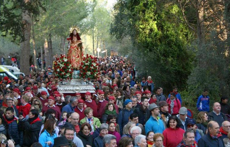Reportaje Romería de bajada Santa Eulalia 2016